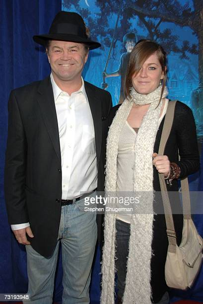 Actor Mickey Dolenz and daughter Georgia attend the premiere of Walt Disney's Bridge To Terabithia at the El Capitan Theater February 3 2007 in...