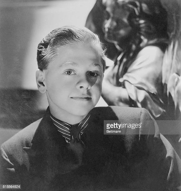 Actor Mickey Rooney is shown here as a child working for MGM.