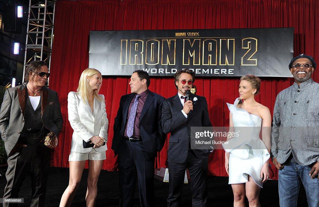 """Iron Man 2"" - Los Angeles Premiere - Arrivals : News Photo"