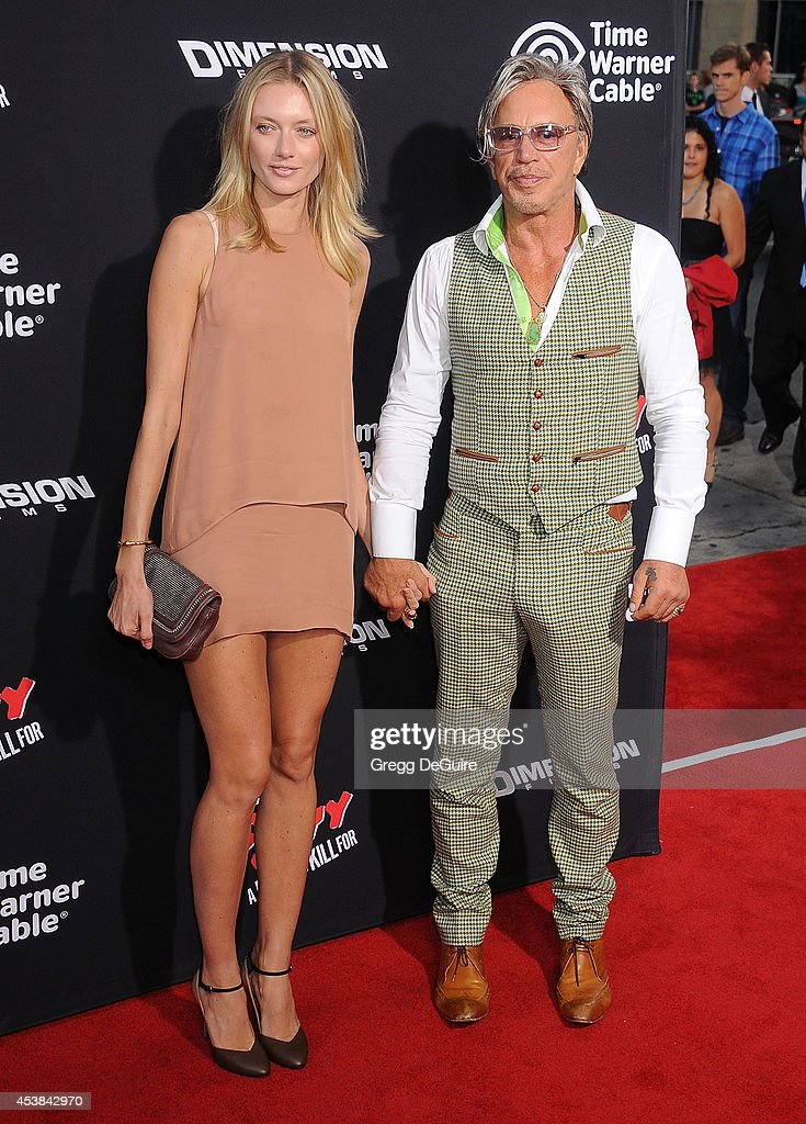 Actor Mickey Rourke And Anastassija Makarenko Arrive At The Los News Photo Getty Images Mickey rourke sported his signature look at the mr. https www gettyimages ca detail news photo actor mickey rourke and anastassija makarenko arrive at the news photo 453842970