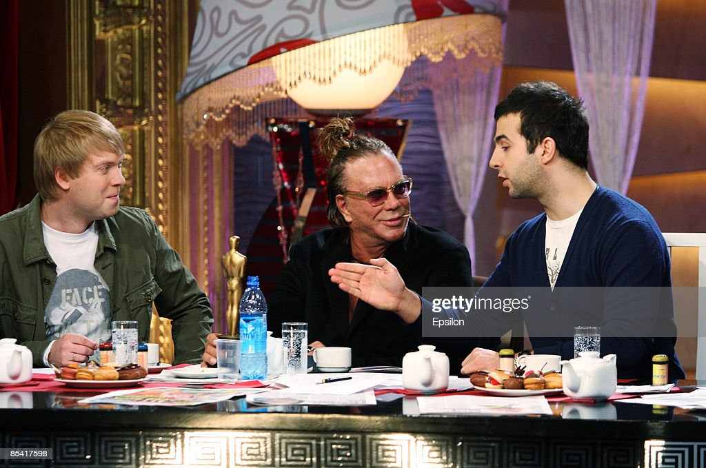Mickey Rourke Visits Moscow : News Photo