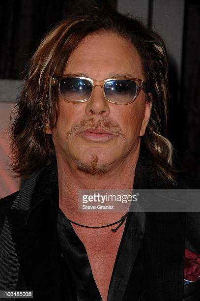 Actor Mickey Rourke arrives at VH1's 14th Annual Critics' Choice Awards held at the Santa Monica Civic Auditorium on January 8, 2009 in Santa Monica,...
