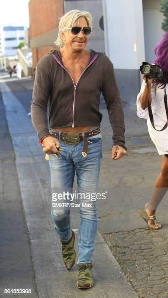 Actor Mickey Rourke is seen on October 21 2017 in Los Angeles CA