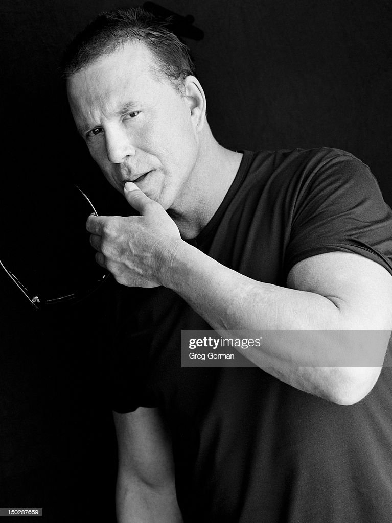 Actor Mickey Rourke poses for Interview Magazine in 2003 ...