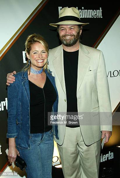 Actor Micky Dolenz and daughter Ami Dolenz arrive to the Entertainment Weekly Emmy PreParty at the Cabana Club on September 17 2005 in Hollywood...