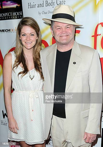 Actor Micky Dolenz and his Daughter Georgia Rose Dolenz attend the Actors For Autism presenting Reach For The Stars honoring Joe Mantegna at Rockwell...