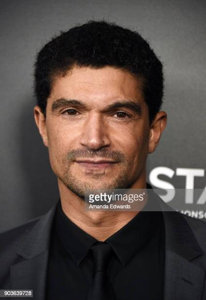 Actor Mido Hamada arrives at the premiere of Starz's Counterpart at the Directors Guild of America on January 10 2018 in Los Angeles California