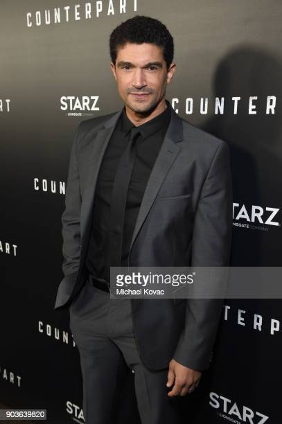 Actor Mido Hamada attends the premiere of STARZ's Counterpart at Director's Guild of America on January 10 2018 in Los Angeles California