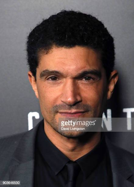 Actor Mido Hamada attends the premiere of Starz's Counterpart at the Directors Guild of America on January 10 2018 in Los Angeles California