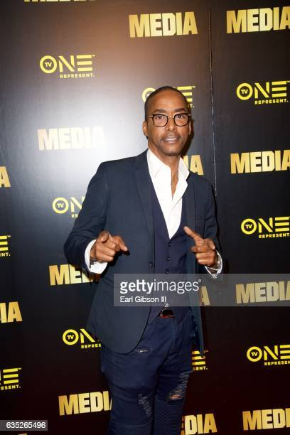 Actor Miguel A Nunez Jr attends the Premiere Of TV One's Media at Pacific Design Center on February 13 2017 in West Hollywood California