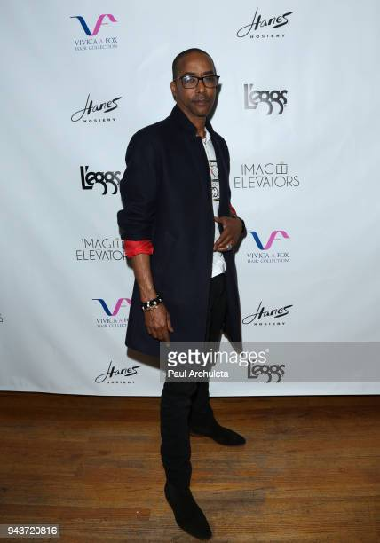 Actor Miguel A Nunez Jr attends the release party for Vivica A Fox's new book Every Day I'm Hustling at Rain Bar and Lounge on April 8 2018 in Studio...