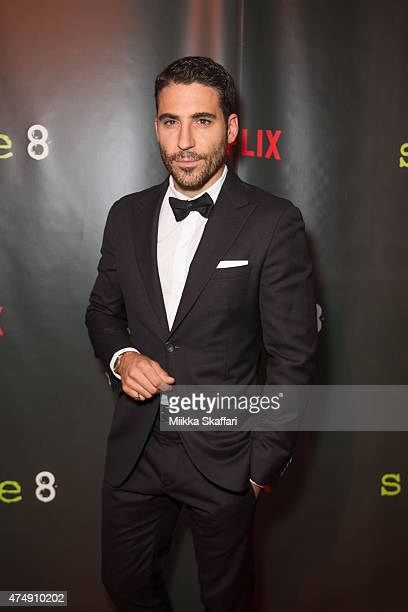 Actor Miguel Angel Silvestre arrives at the Premiere of Sense8 at AMC Metreon 16 on May 27 2015 in San Francisco California