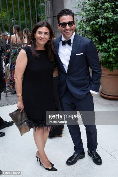 Actor Miguel Angel Silvestre is seen arriving at 'Yo Dona' International Awards 2019 at ThyssenBornemisza Museum on June 24 2019 in Madrid Spain