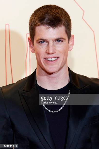 Actor Miguel Bernardeau attends the Fotogramas Awards 2019 at Florida Park Club on March 04 2019 in Madrid Spain