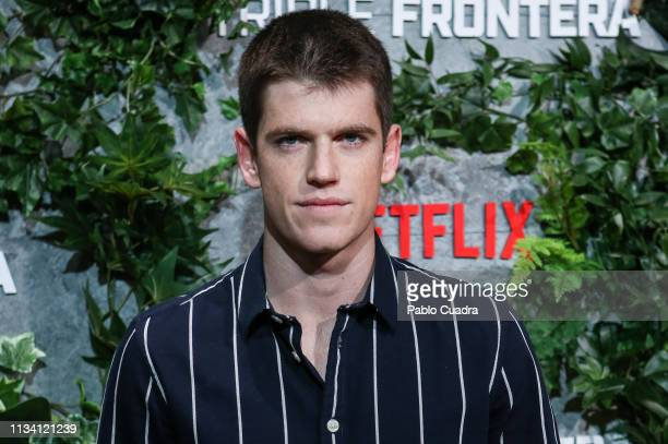 Actor Miguel Bernardeau attends the Triple Frontier premiere at Callao Cinema on March 06 2019 in Madrid Spain