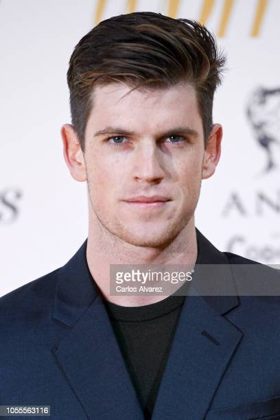 Actor Miguel Bernardeau attends Woman awards 2018 at the Casino de Madrid on October 30 2018 in Madrid Spain