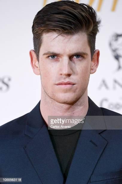 Actor Miguel Bernardeau attends Woman awards 2018 at the Casino de Madrid on October 30 2018 in Madrid Spain