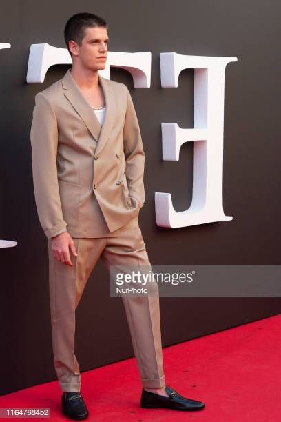 Actor Miguel Bernardeau during the premiere of the second season of Elite in Madrid on 29 August 2019 Spain