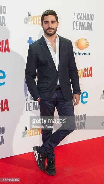 Actor Miguel Diosdado attends 'A cambio de nada' premiere at Capitol cinema on May 7 2015 in Madrid Spain