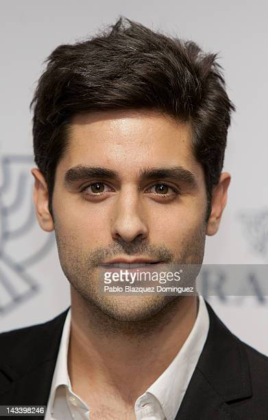 Actor Miguel Diosdado attends 'Caramelo' new collection presentation on April 25 2012 in Madrid Spain