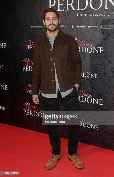 Actor Miguel Diosdado attends the 'Que Dios nos perdone' photocall at Capitol cinema on October 26 2016 in Madrid Spain