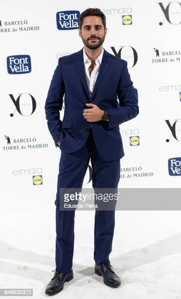 Actor Miguel Diosdado attends the 'Yo Dona MBFW opening party' photocall at Barcelo hotel on September 13 2017 in Madrid Spain
