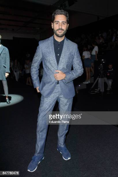 Actor Miguel Diosdado is seen at the Garcia Madrid show during MercedesBenz Fashion Week Madrid Spring/Summer 2018 at Ifema on September 15 2017 in...
