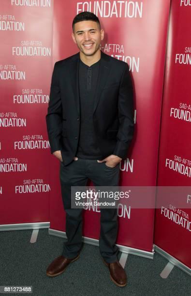 "Actor Miguel Gomez attends SAG-AFTRA Foundation Conversations screening of ""SMILF"" at SAG-AFTRA Foundation Screening Room on November 28, 2017 in Los..."