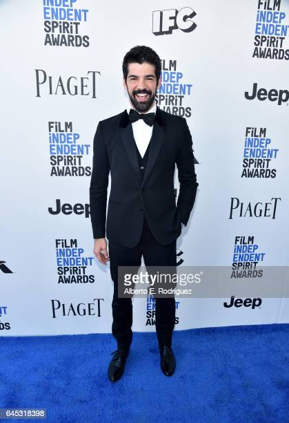 Actor Miguel Ángel Muñoz attends the 2017 Film Independent Spirit Awards at the Santa Monica Pier on February 25 2017 in Santa Monica California