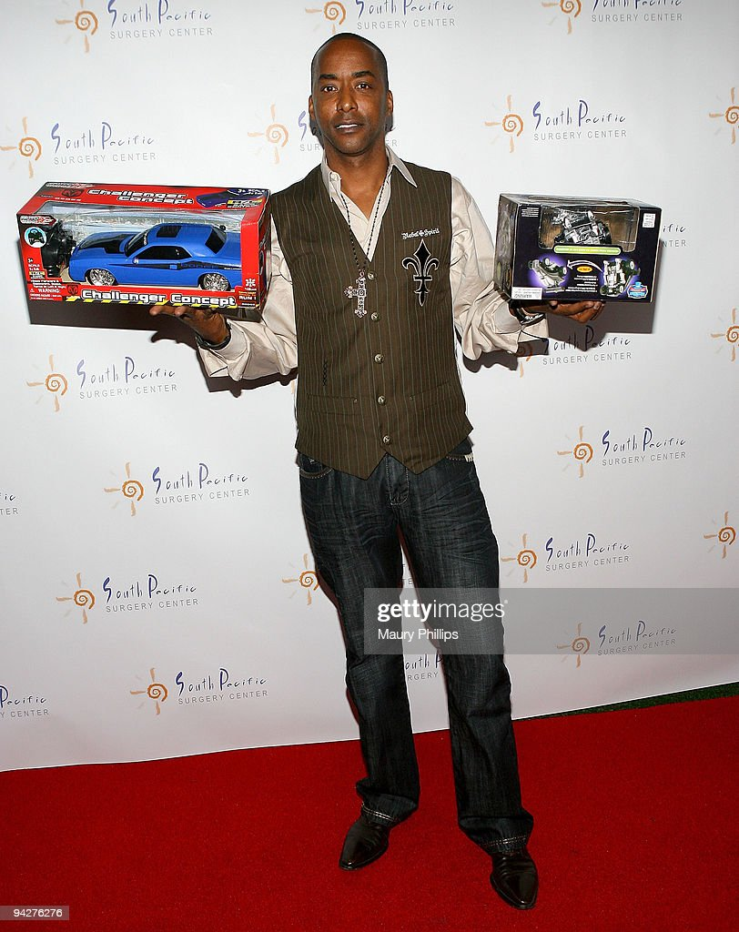 Actor Miguel Nunez arrives at Simine Hashemizdeh's Holiday Red Carpet Event To Benefit M Benga Foundation on December 10, 2009 in Hollywood, California.