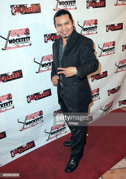 Actor Miguel Pu attends the ShockFest Film Festival Awards held at Raleigh Studios on January 11 2014 in Los Angeles California