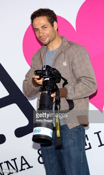 Actor Mike Adler attends a photocall to the new German television SAT1 telenovela 'Anna und die Liebe' on August 18 2008 in Berlin Germany