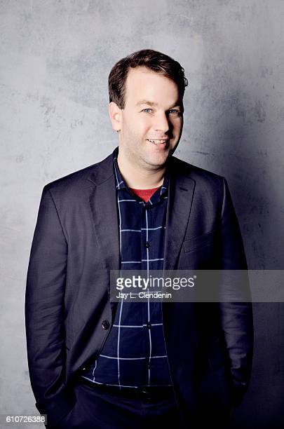 Actor Mike Birbiglia from the film 'Tramps' poses for a portraits at the Toronto International Film Festival for Los Angeles Times on September 10...