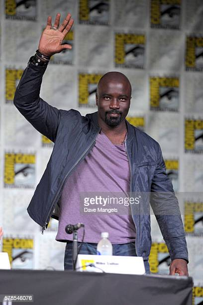 Actor Mike Colter during Comic-Con International 2016 at San Diego Convention Center on July 21, 2016 in San Diego, California.