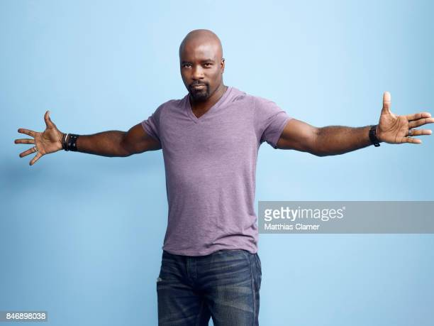Actor Mike Colter from 'Marvels Luke Cage' is photographed for Entertainment Weekly Magazine on July 21 2016 at Comic Con in the Hard Rock Hotel in...