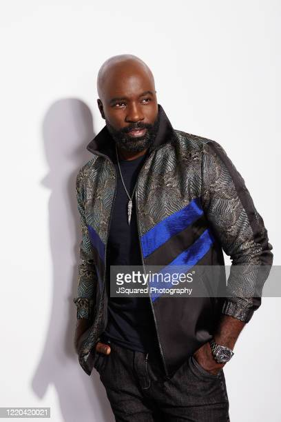 Actor Mike Colter poses for a spec shoot on March 11 2020 in Sherman Oaks California