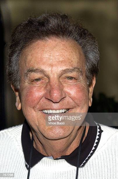 Actor Mike Connors attends the 3rd Annual Academy of Television Arts and Sciences Foundation Celebrity Golf Classic at the Riviera Country Club April...