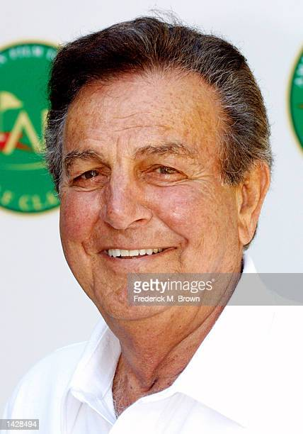 Actor Mike Connors attends the Fifth Annual American Film Insitute Golf Classic at the Riviera Country Club on September 23 2002 in Pacific Palisades...