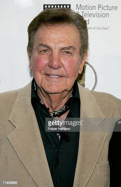 Actor Mike Connors attends the Golden Boot Awards held at the Beverly Hilton Hotel on August 12 2006 in Beverly Hills California