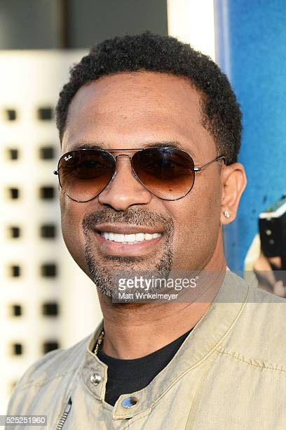 Actor Mike Epps attends a special presentation of Warner Bros' Keanu at ArcLight Cinemas Cinerama Dome on April 27 2016 in Hollywood California