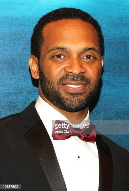 Actor Mike Epps attends the Create A Future Benefit at Ritz Carlton Battery Park on August 12 2010 in New York City