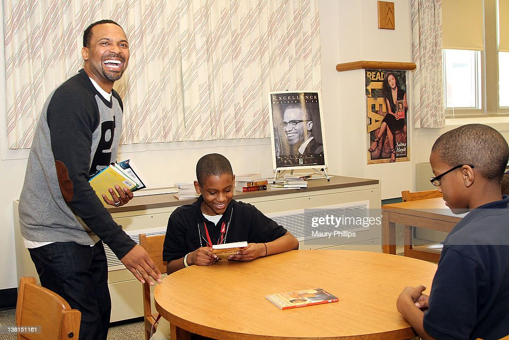 Michael And Mechelle Epps Foundation Media Day : News Photo
