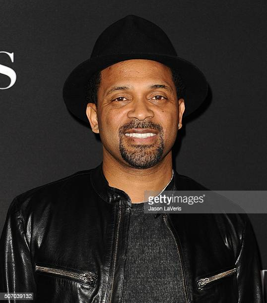 Actor Mike Epps attends the premiere of Fifty Shades of Black at Regal Cinemas LA Live on January 26 2016 in Los Angeles California