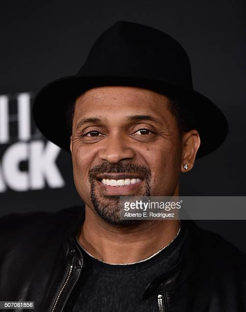 Actor Mike Epps attends the premiere of Open Road Films' 'Fifty Shades of Black' at Regal Cinemas LA Live on January 26 2016 in Los Angeles California