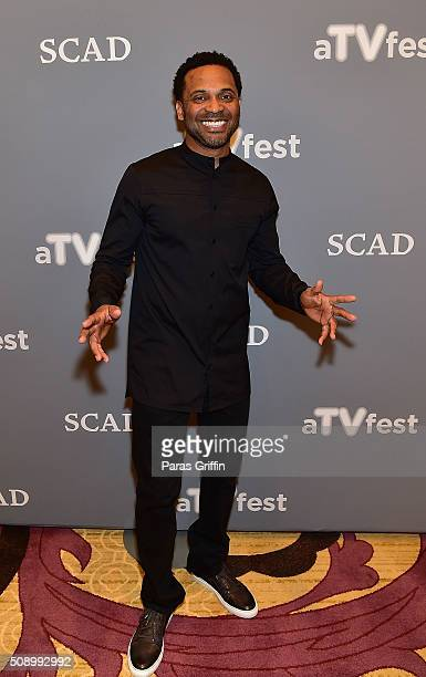 Actor Mike Epps attends 'Uncle Buck' event during aTVfest 2016 presented by SCAD on February 7 2016 in Atlanta Georgia