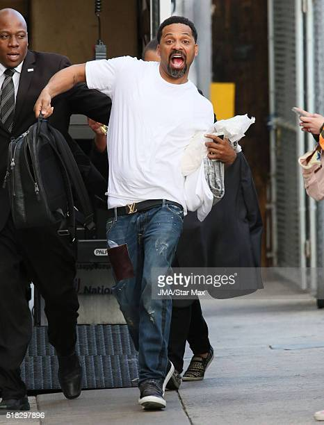 Actor Mike Epps is seen at 'Jimmy Kimmel Live' on March 30 2016 in Los Angeles California