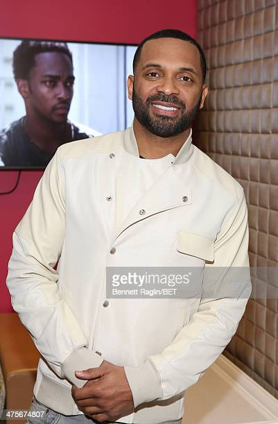 Actor Mike Epps visits 106 Park at BET studio on February 27 2014 in New York City