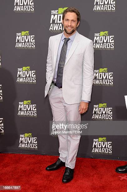 Actor Mike Faiola arrives at the 2013 MTV Movie Awards at Sony Pictures Studios on April 14 2013 in Culver City California