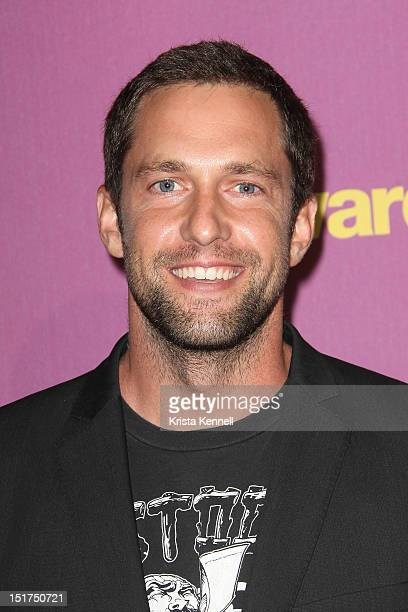 Actor Mike Faiola arrives at the Awkward Season Two finale at The Colony on September 10 2012 in Los Angeles California