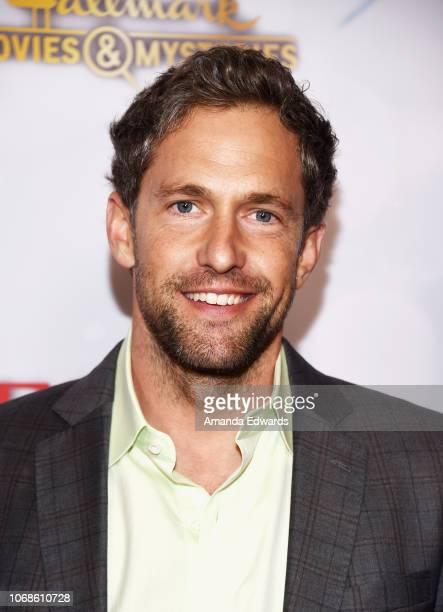 Actor Mike Faiola arrives at the Hallmark Channel Once Upon A Christmas Miracle screening and holiday party at 189 by Dominique Ansel on December 4...
